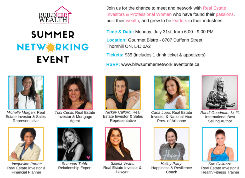 BHW Summer Networking Event 2017