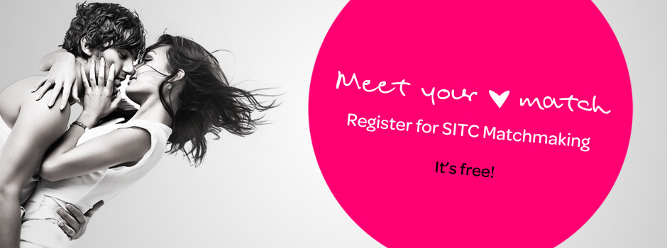Meet your Match, Register for SITC Matchmaking. It's free!