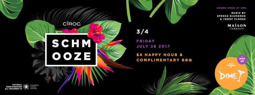 Schmooze Dime July 2017 FB Cover